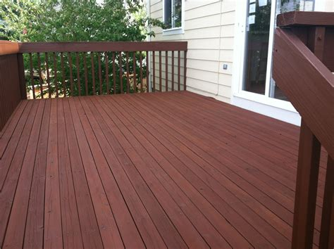 deck stain colors cabot deck stain in semi solid oak brown for cottage