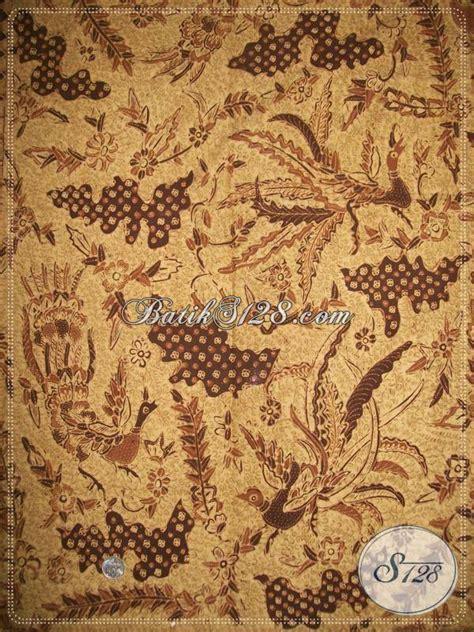 Bahan Batik Katun Bagus Pekalongan batik tulis pewarna alami motif burung merak bagus kemeja
