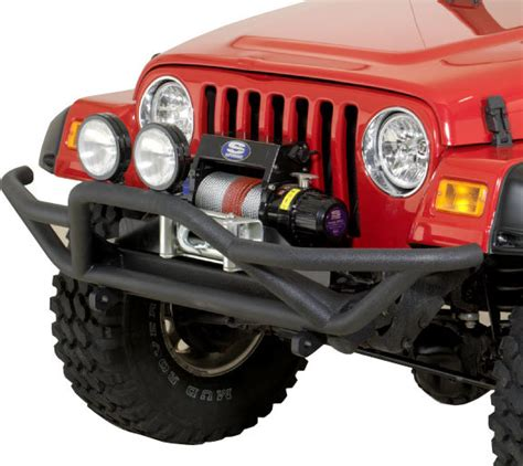 Brush Guard For Jeep Wrangler Rugged Ridge 11502 11 Rrc Front Grille Guard For 87 06