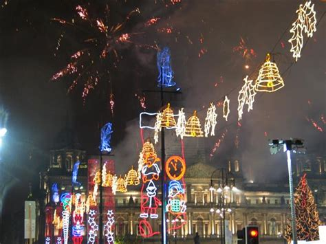 file george square christmas lights 2007 geograph org uk