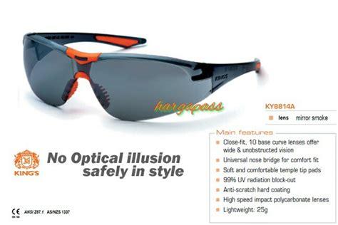 Kacamata Safety King S Ky 1152 Smoke Lens jual kacamata safety king s ky 8814a safety glass king ky8814a harga pass