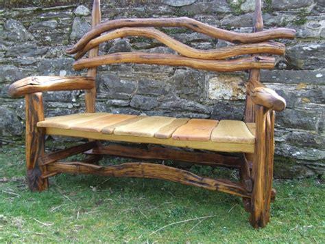 Gartenbank Holz Rustikal