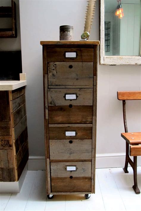 quirky filing cabinet unusual storage industrial feel