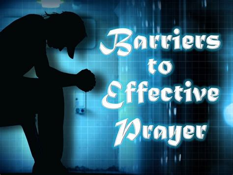 hinder good life mp3 download barriers to effective prayer