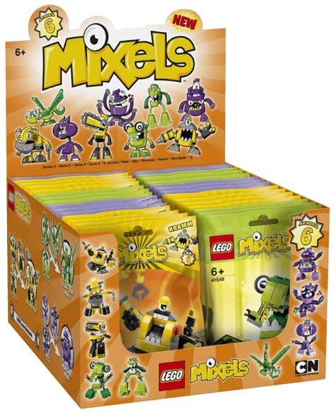 Lego Mixels Series 6 Munchos Mixel Seri 41551 41552 41553 3pcs mixels series 6 brickset lego set guide and database