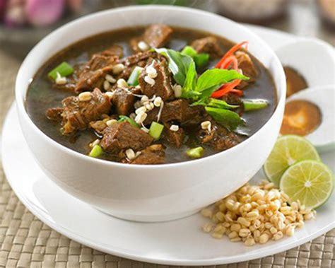 resep membuat nasi kuning jawa timur cara membuat resep rawon enak spesial resepumi com