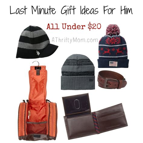 gifts for 20 year olds last minute last minute gift ideas for him all 20 giftsforhim stockingstuffers a thrifty