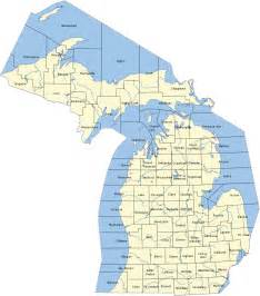 County Map Of Michigan by Calendar Michigan Map