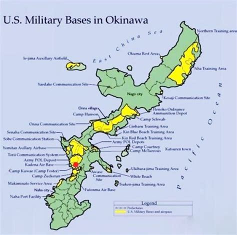 map us bases 2 map of okinawa bases new us base in