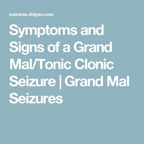 Detox Grand Mal Seizure 1000 ideas about epilepsy surgery on epilepsy