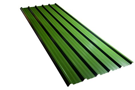 roofing and sheet metal green corrugated metal roofing sheets