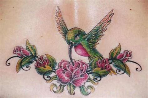 hummingbird with flower tattoo designs image gallary 1 beautiful hummingbird tattoos designs
