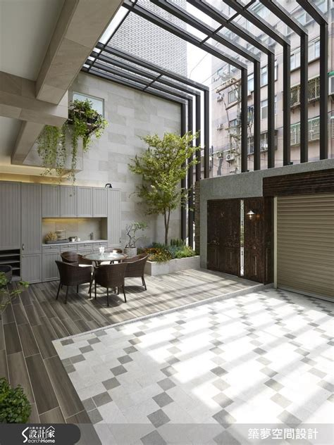 enclosed courtyard architecture pinterest