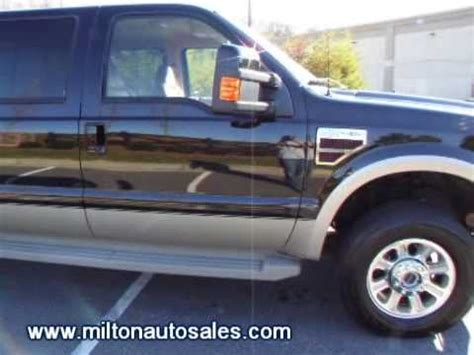 2008 Ford F250 King Ranch Crew Cab 4x4 Diesel For Sale