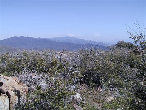 sierra peaks section southern california hiking iron springs mountain april 25