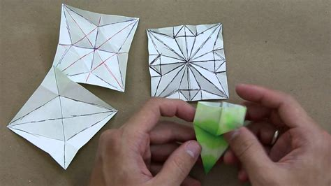 Origami Lessons For Free - how to solve crease patterns cp advanced origami