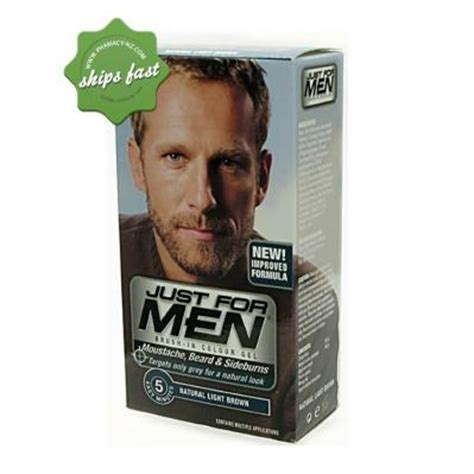 just for light brown buy just for beard light brown