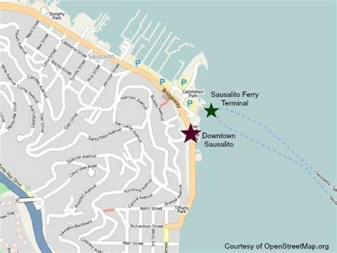 san francisco ferry map sausalito ferry sausalito ferry schedule san francisco ferry