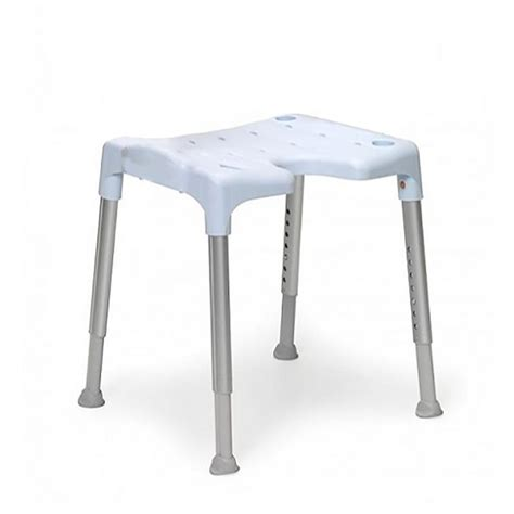 Waterproof Shower Stool by Lightweight Padded Shower Chair With Cut Out Shower Seat