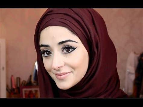 tutorial makeup simple hijab video tutorial hijab tutorial saloni health beauty