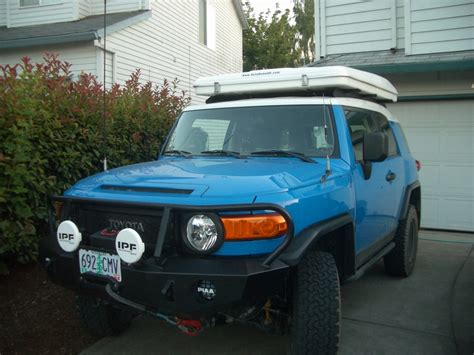 maggiolina roof top tent roof rack lights question