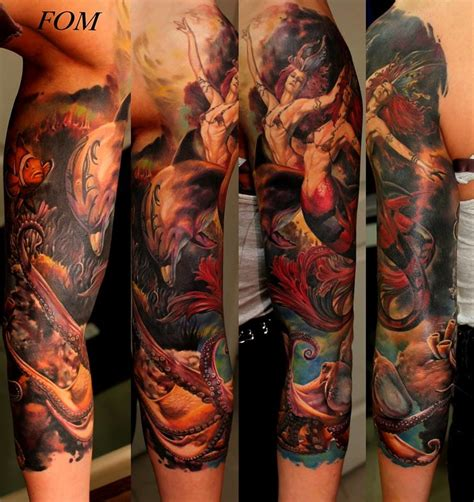 realistic mermaid tattoo artist spotlight unbelievably realistic tattoos by ilya