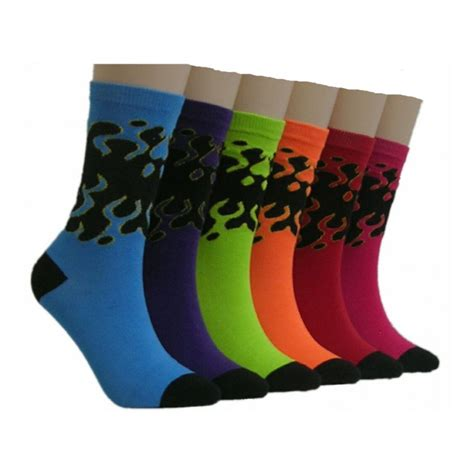s colorful socks 360 units of s colorful crew socks at