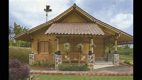 create house half amakan house design modern house