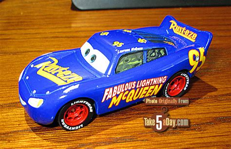 Mini Racers Cars 3 14 Fabulous Lightning Mcqueen mattel disney pixar cars 3 fabulous lightning mcqueen retail version take five a day