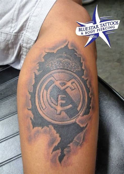 real madrid tattoo 25 tremendous collection of awesome real madrid tattoos