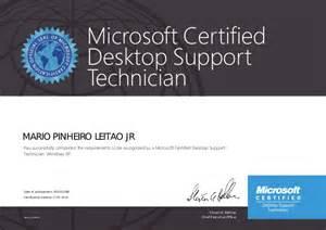 Desktop Support Technician by Mcdst Microsoft Certified Desktop Support Technician
