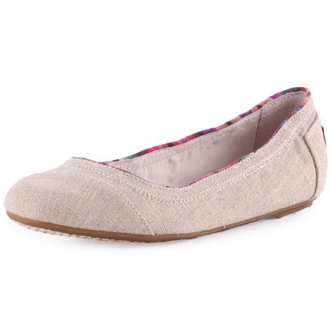 toms ballet flat womens ballerinas in natural
