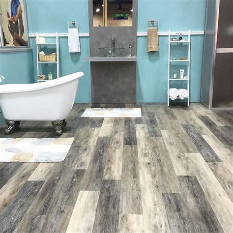 luxury vinyl bathroom flooring 25 best ideas about waterproof flooring on pinterest