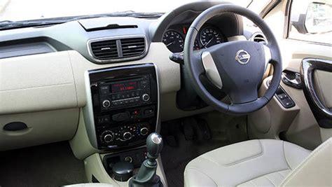 Nissan Terrano India Interior by 2013 Nissan Terrano Petrol India Drive Overdrive
