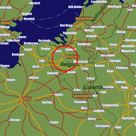 belgium rail map brussels rail maps and stations from european rail guide