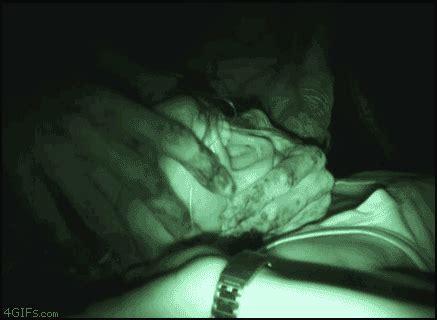 deepthroat bed horror gif of the week good advice