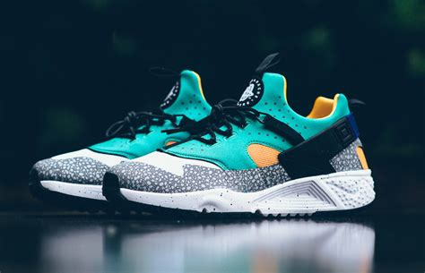Nike Slop 12 nike air huarache utility safari emerald green sneaker bar detroit