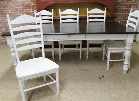 white farmhouse table and chairs 98 white farmhouse table black chairs for my early fall