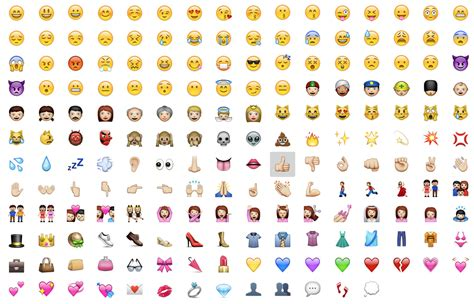 Emoji Apple | emoji the amusing japanese smileys