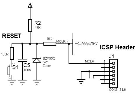 capacitor reset circuit what voltage rating for electolitic capacitors microchip