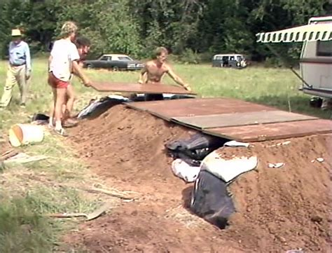 Backyard Bomb Shelter Nuclear War Survival How To Survive A Nuclear War