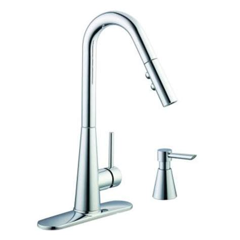 glacier bay pull out kitchen faucet glacier bay 950 series single handle pull down sprayer