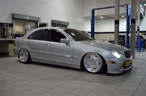 bagged mercedes amg my pride and bagged w203 mbworld org forums