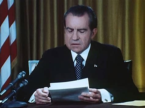 Why Did Richard Nixon Resign The Office Of President by President Nixon S Watergate Speech April 30 1973