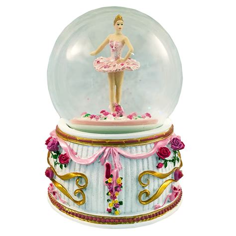 nutcracker ballet musical snow globes