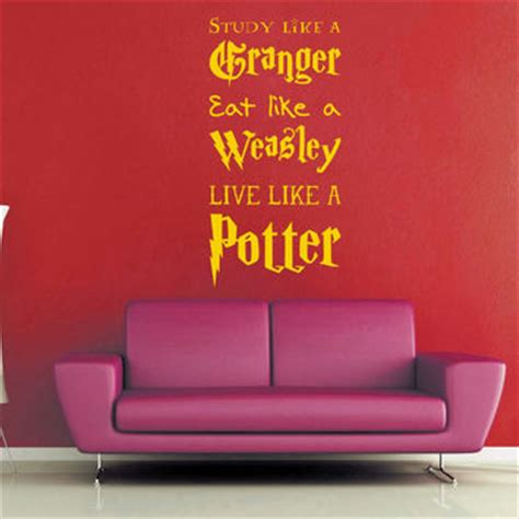Harry Potter Bathroom Decor by Live Like A Potter Harry Potter Wall From Geekery Made