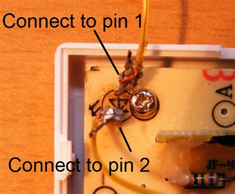 doorbell diode direction how to make a remote shutter release from a doorbell diy
