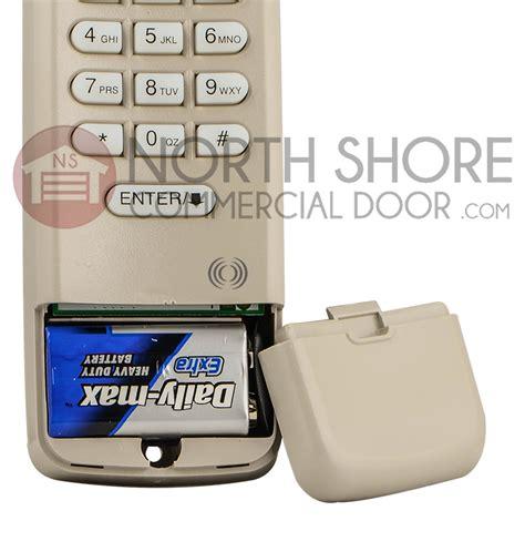 Liftmaster Keypad Garage Door Opener Liftmaster 377lm Garage Door Opener Keypad Remote W 9v