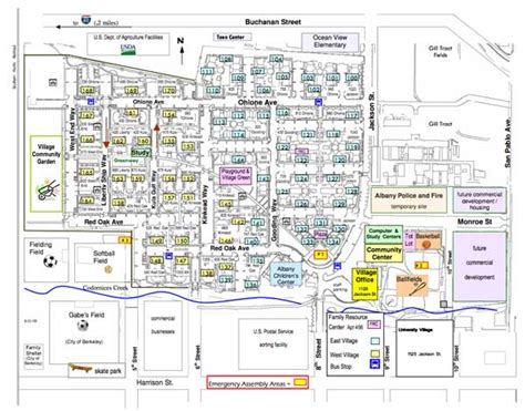 uc berkeley cus map map