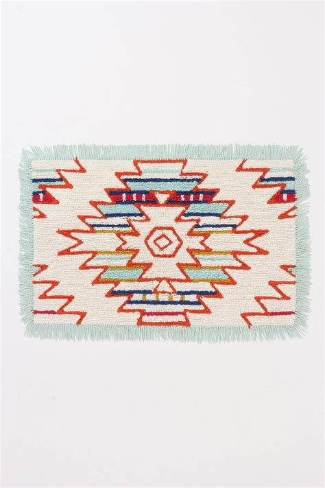 Anthropologie Bath Mat by Mod Desert Bathmat